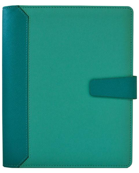 Agenda Planner Thermo PU Oris Turquoise