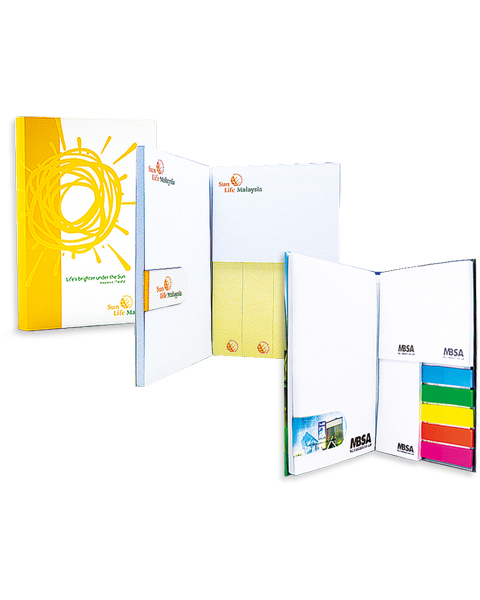 Combi ReStick Note with Magnetic Bookmark