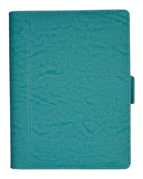 Ultimate Journal Thermo PU Flora Turquoise